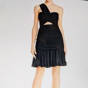 JILL STUART Dress Cocktail Black Cut Out NWT 8